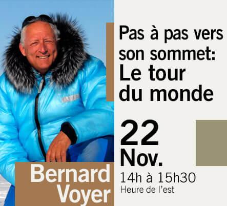 LES GRANDES CONFÉRENCES - Bernard Voyer