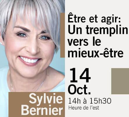 LES GRANDES CONFÉRENCES - Sylvie Bernier